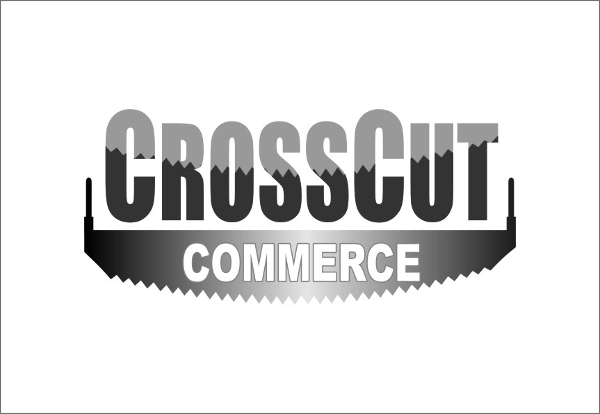 Logo Design by RasYa Muhammad Athaya - Entry No. 89 in the Logo Design Contest New Logo Design for CrossCut Commerce.