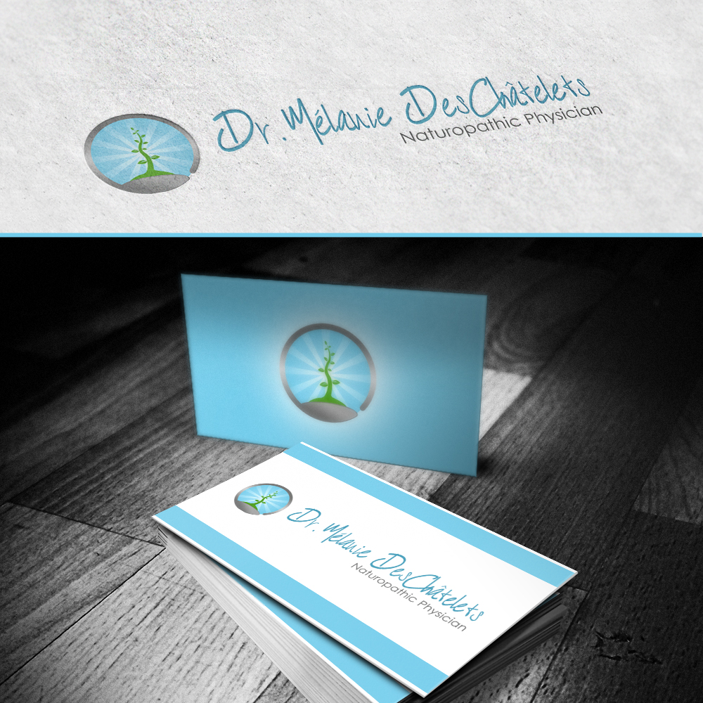 Logo Design by omARTist - Entry No. 28 in the Logo Design Contest Artistic Logo Design for Dr Mélanie DesChâtelets.