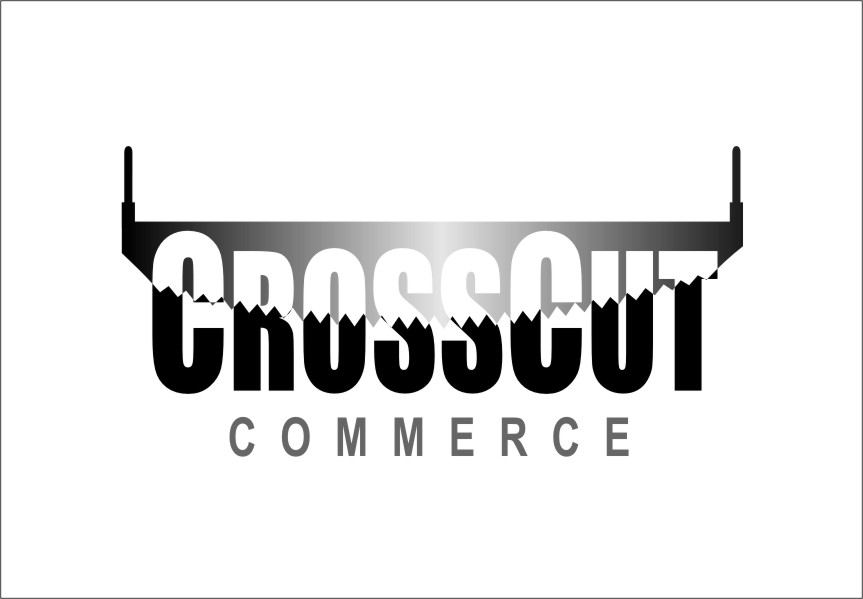 Logo Design by Ngepet_art - Entry No. 90 in the Logo Design Contest New Logo Design for CrossCut Commerce.