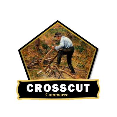 Logo Design by Crystal Desizns - Entry No. 92 in the Logo Design Contest New Logo Design for CrossCut Commerce.