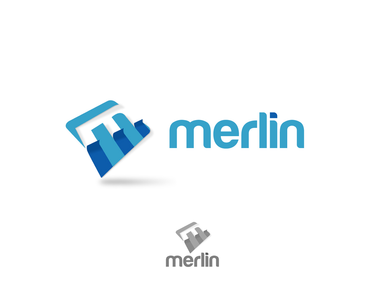 Logo Design by jpbituin - Entry No. 120 in the Logo Design Contest Imaginative Logo Design for Merlin.
