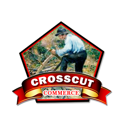 Logo Design by Crystal Desizns - Entry No. 93 in the Logo Design Contest New Logo Design for CrossCut Commerce.