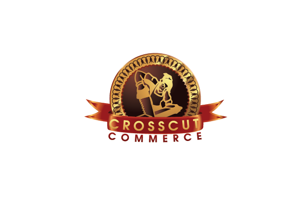 Logo Design by Private User - Entry No. 94 in the Logo Design Contest New Logo Design for CrossCut Commerce.