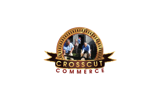 Logo Design by Private User - Entry No. 95 in the Logo Design Contest New Logo Design for CrossCut Commerce.