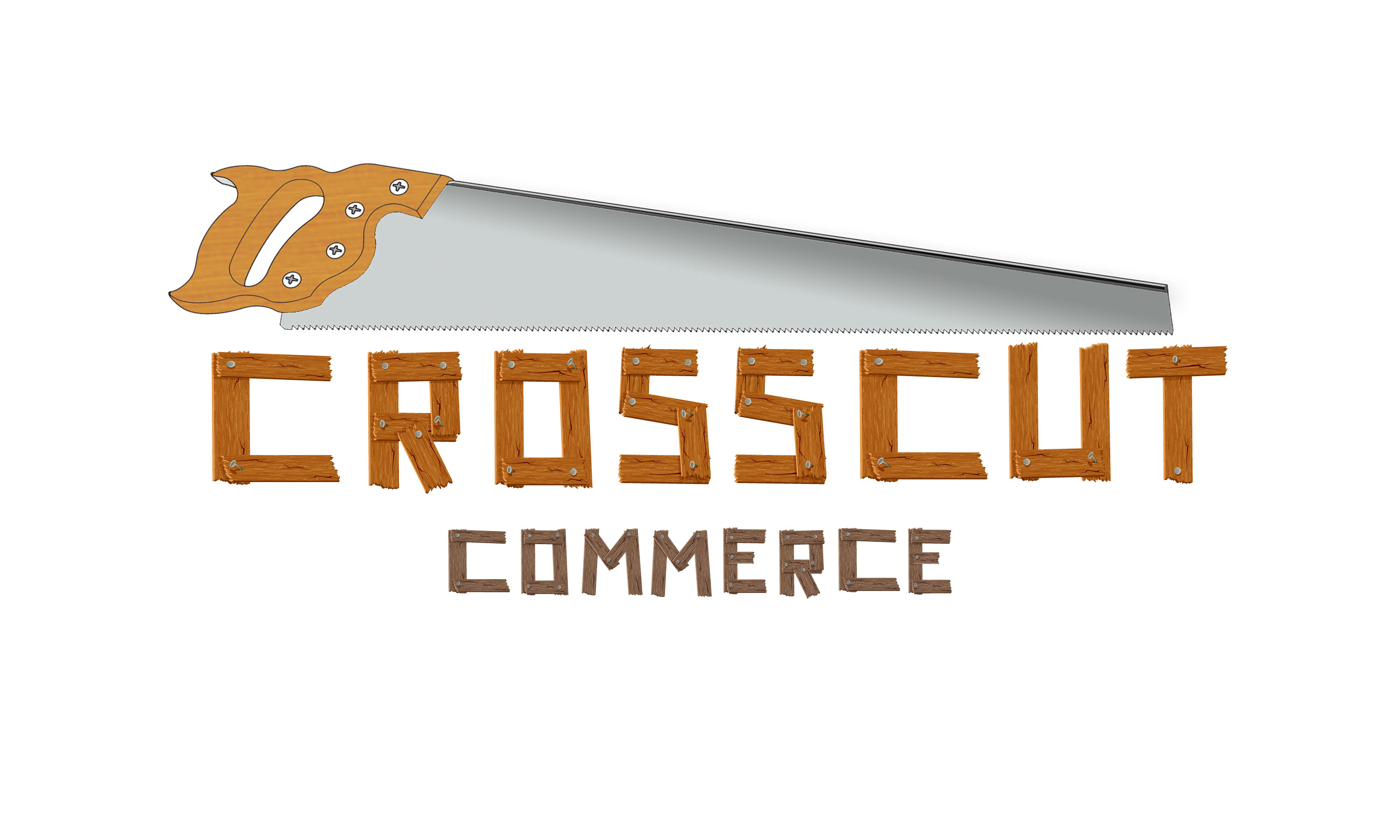 Logo Design by Nishanth Np - Entry No. 97 in the Logo Design Contest New Logo Design for CrossCut Commerce.