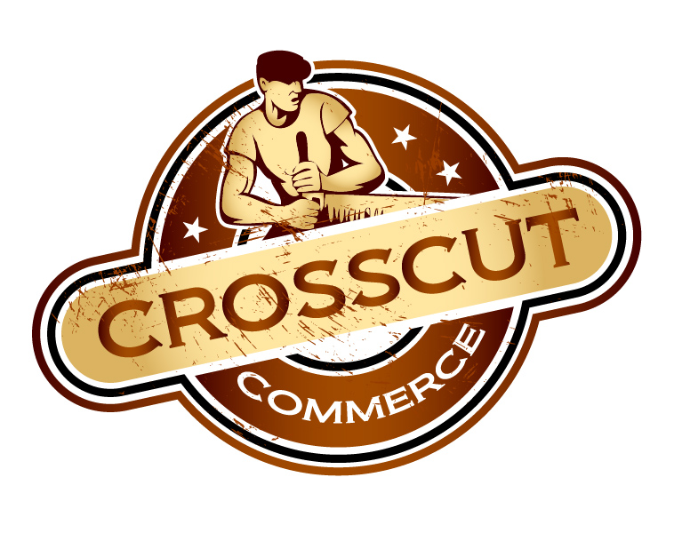 Logo Design by lagalag - Entry No. 98 in the Logo Design Contest New Logo Design for CrossCut Commerce.