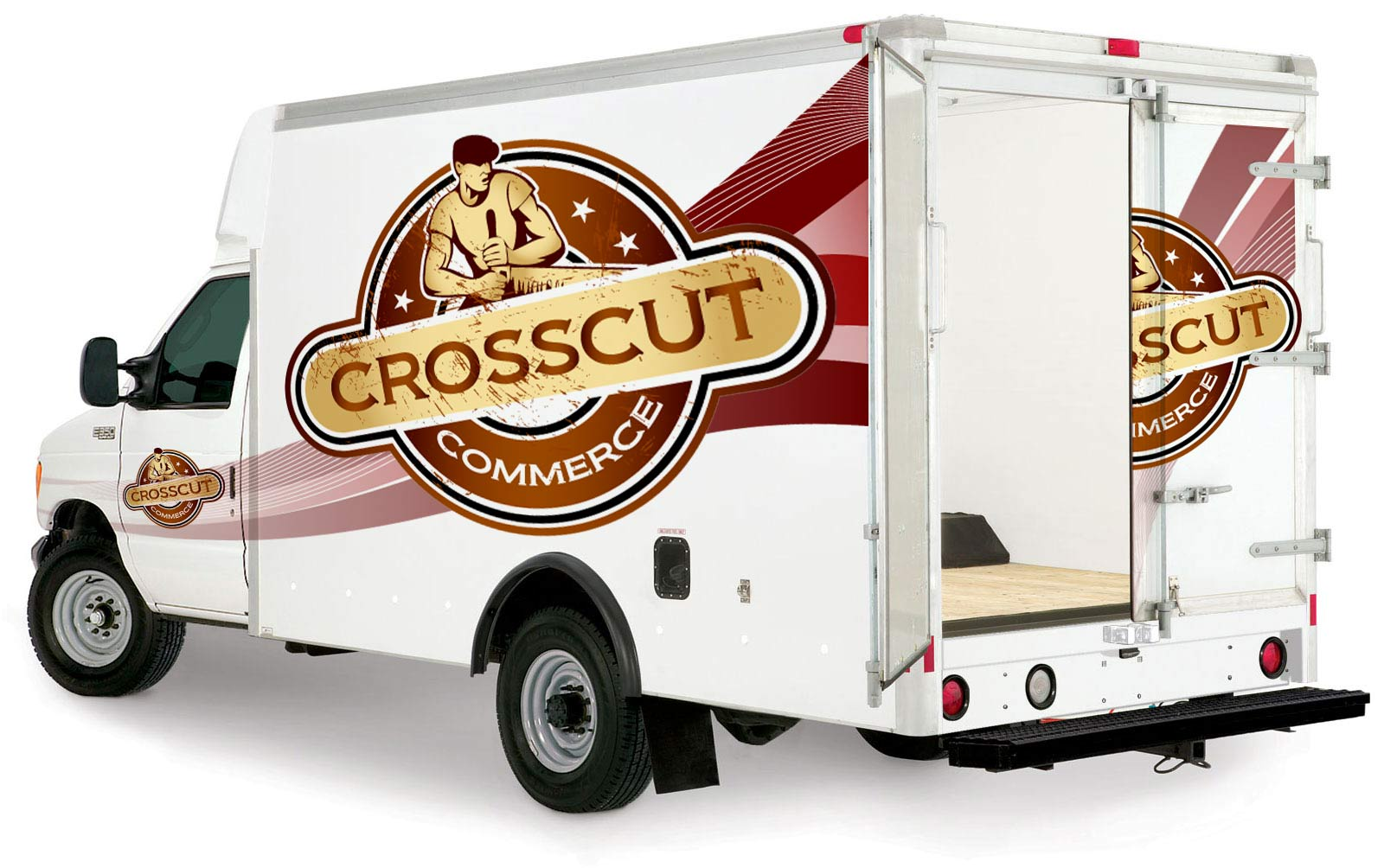 Logo Design by lagalag - Entry No. 99 in the Logo Design Contest New Logo Design for CrossCut Commerce.