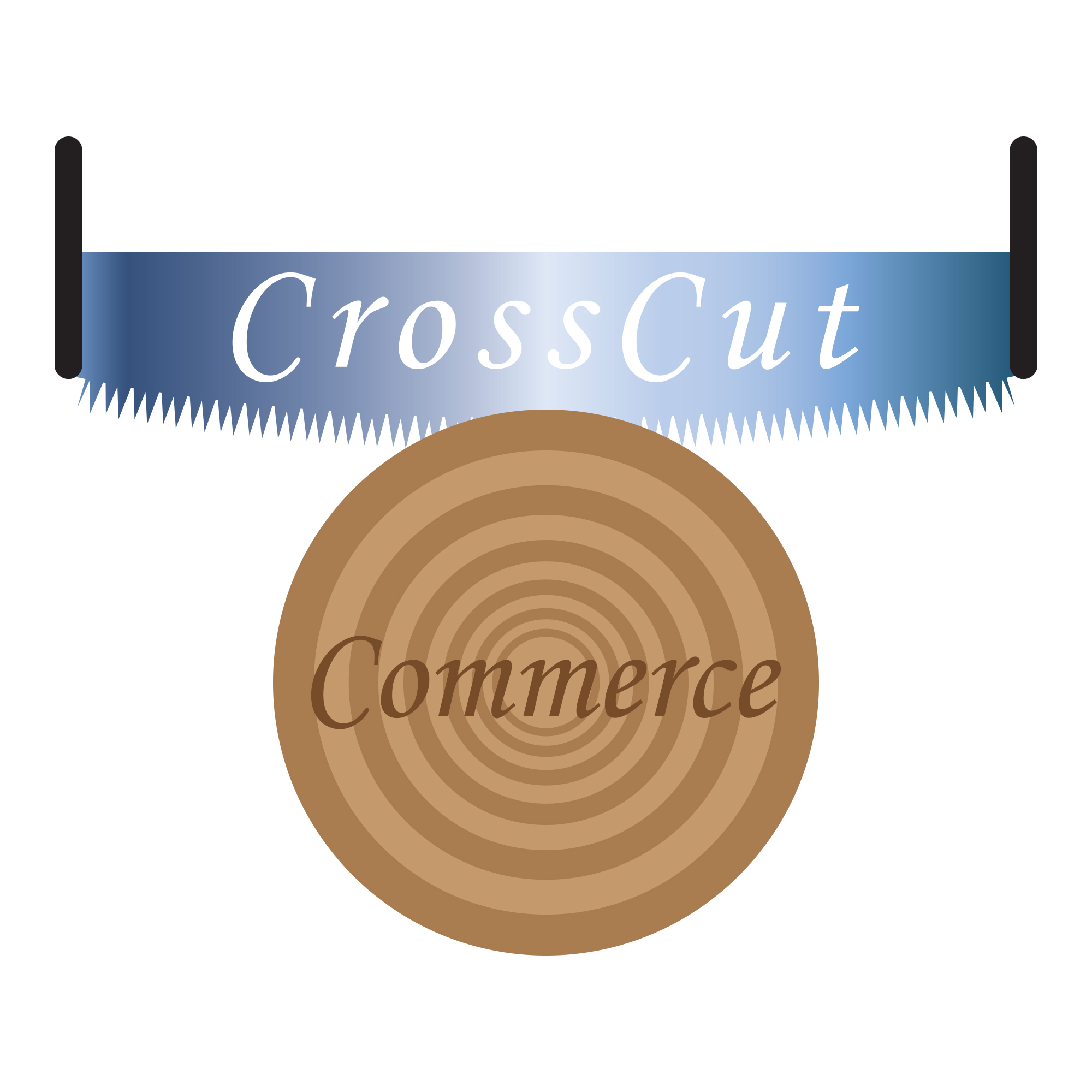 Logo Design by Adrian Bud - Entry No. 100 in the Logo Design Contest New Logo Design for CrossCut Commerce.