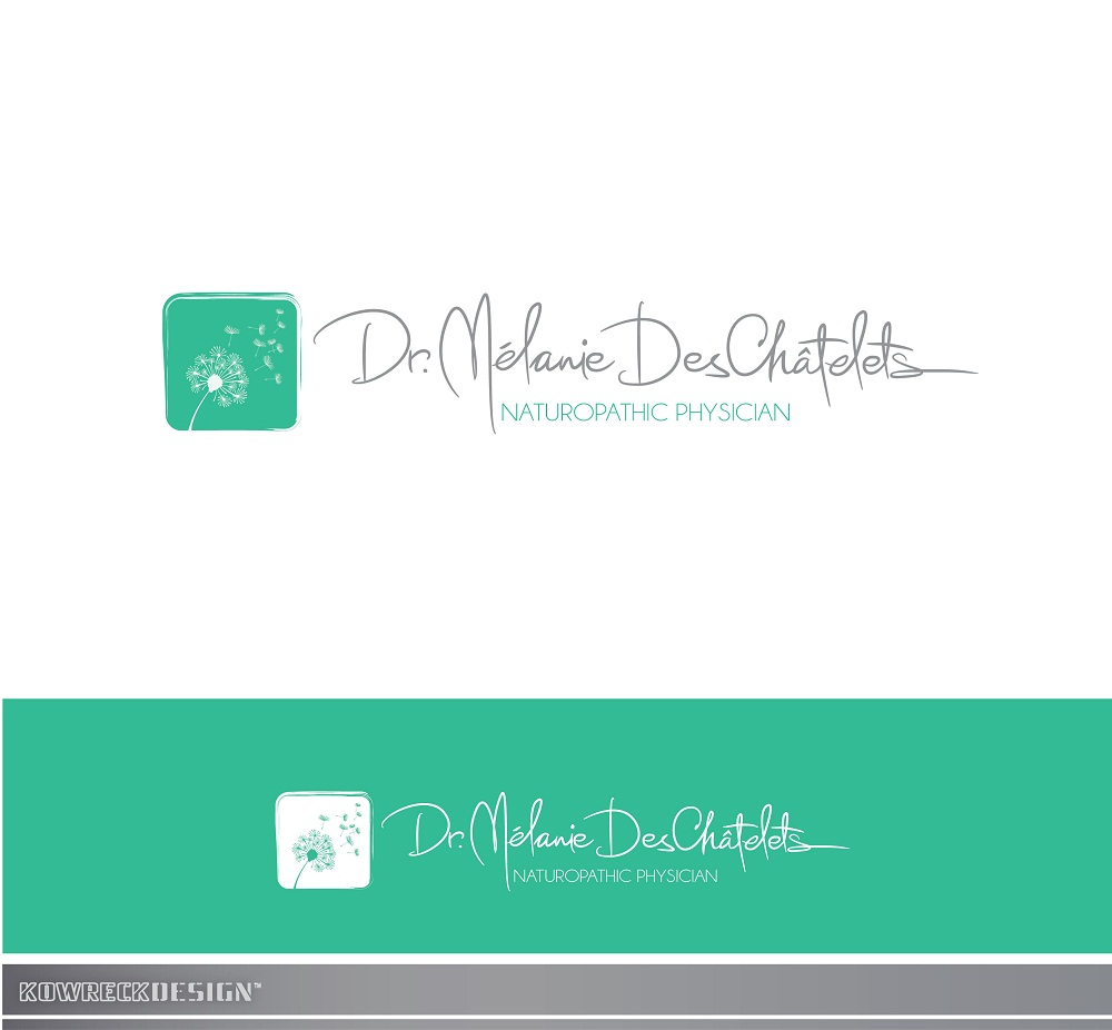Logo Design by kowreck - Entry No. 42 in the Logo Design Contest Artistic Logo Design for Dr Mélanie DesChâtelets.