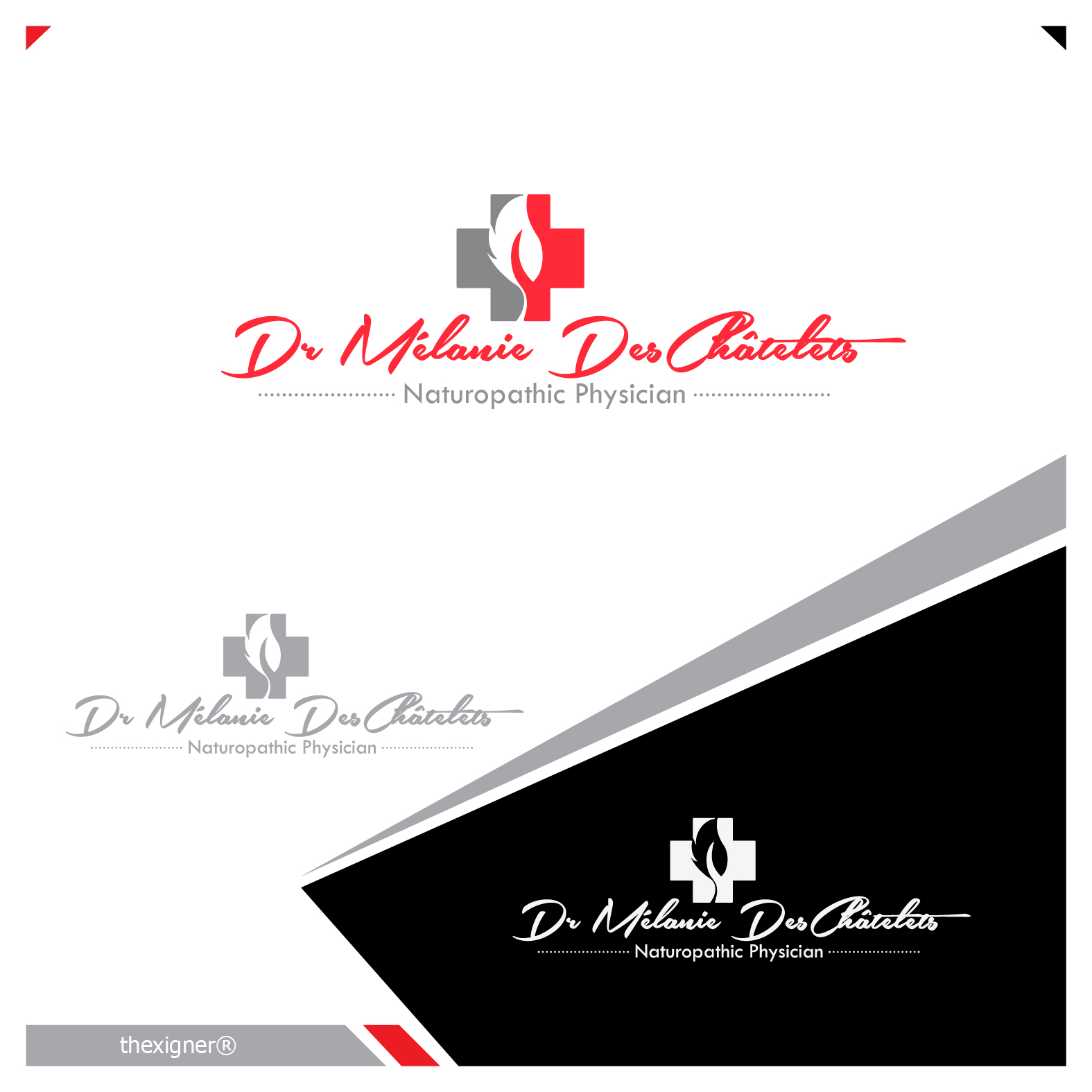 Logo Design by lagalag - Entry No. 43 in the Logo Design Contest Artistic Logo Design for Dr Mélanie DesChâtelets.
