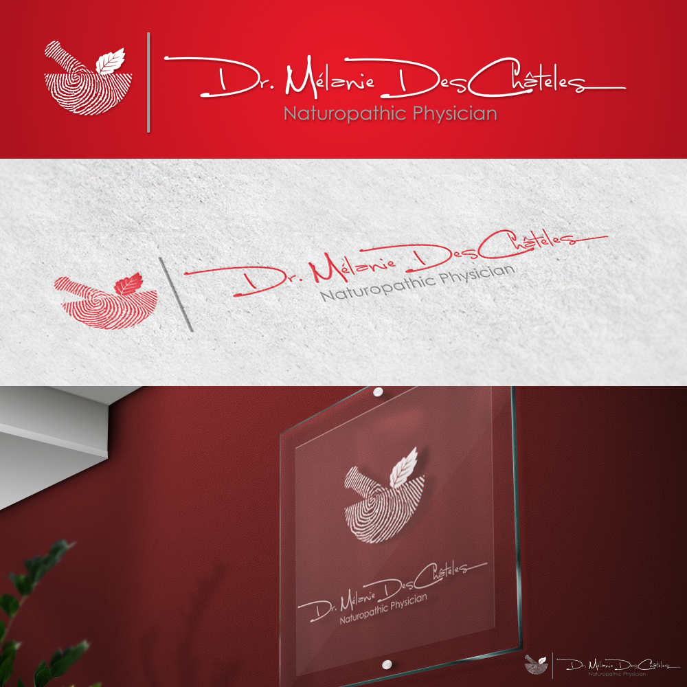 Logo Design by omARTist - Entry No. 45 in the Logo Design Contest Artistic Logo Design for Dr Mélanie DesChâtelets.