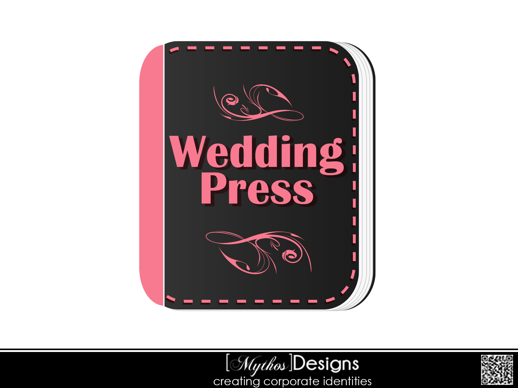 Logo Design by Mythos Designs - Entry No. 42 in the Logo Design Contest Wedding Writes Logo Design.