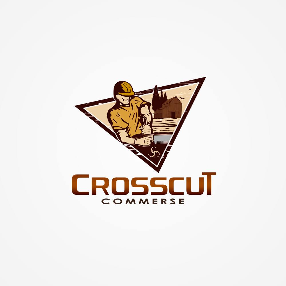 Logo Design by omARTist - Entry No. 102 in the Logo Design Contest New Logo Design for CrossCut Commerce.
