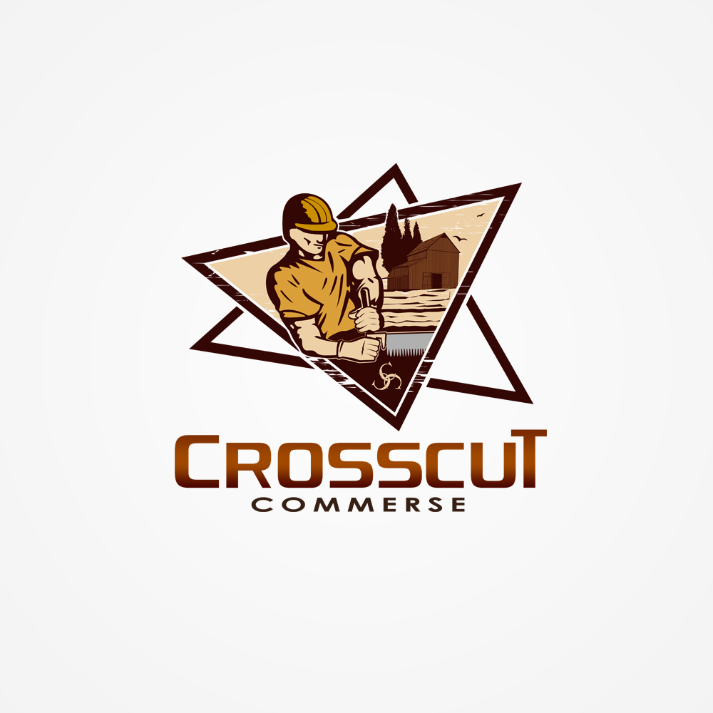 Logo Design by omARTist - Entry No. 103 in the Logo Design Contest New Logo Design for CrossCut Commerce.