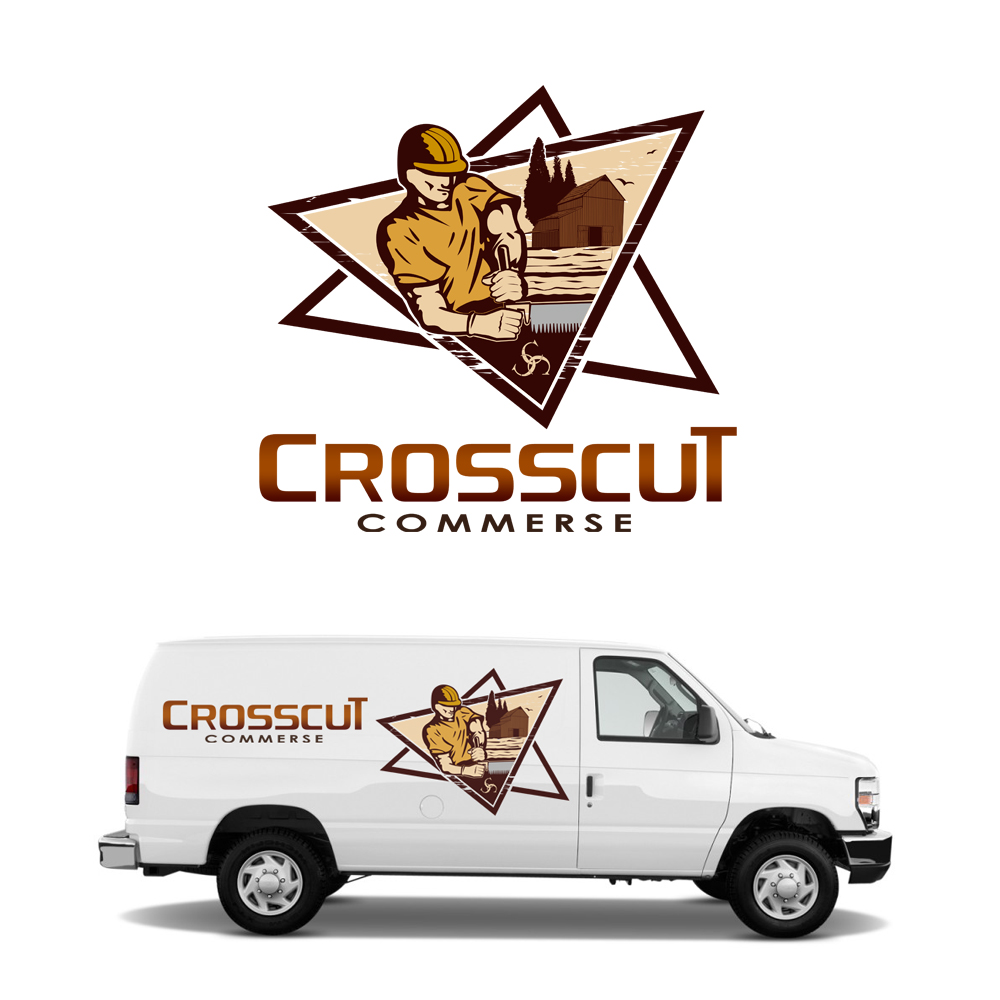 Logo Design by omARTist - Entry No. 104 in the Logo Design Contest New Logo Design for CrossCut Commerce.