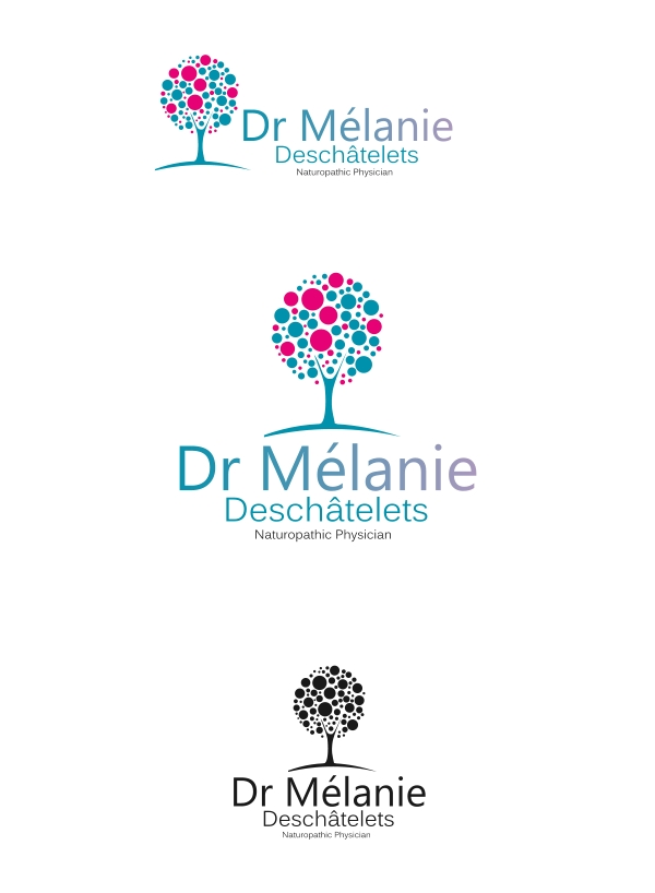 Logo Design by Private User - Entry No. 50 in the Logo Design Contest Artistic Logo Design for Dr Mélanie DesChâtelets.