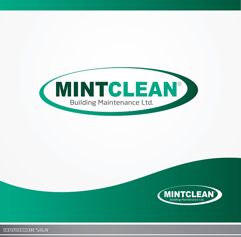 Logo Design by kowreck - Entry No. 2 in the Logo Design Contest MintClean Building Maintenance Ltd. Logo Design.