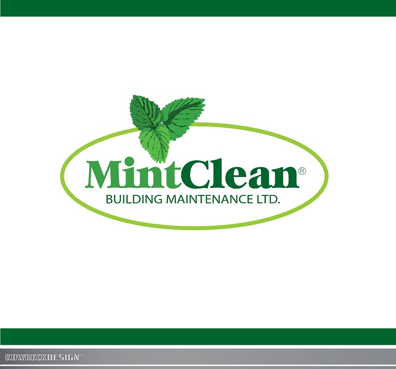 Logo Design by kowreck - Entry No. 3 in the Logo Design Contest MintClean Building Maintenance Ltd. Logo Design.