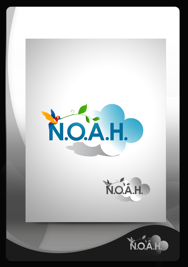 Logo Design by Mark Anthony Moreto Jordan - Entry No. 88 in the Logo Design Contest Fun Logo Design for N.O.A.H..