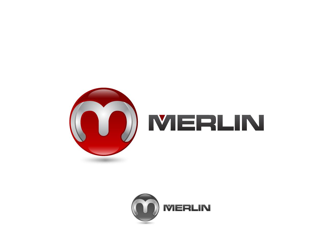 Logo Design by jpbituin - Entry No. 130 in the Logo Design Contest Imaginative Logo Design for Merlin.