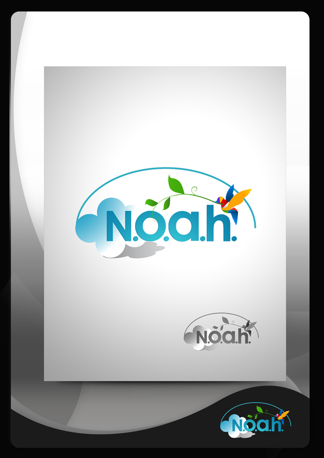 Logo Design by Mark Anthony Moreto Jordan - Entry No. 90 in the Logo Design Contest Fun Logo Design for N.O.A.H..