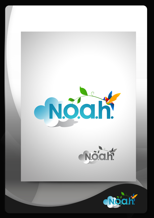 Logo Design by Mark Anthony Moreto Jordan - Entry No. 91 in the Logo Design Contest Fun Logo Design for N.O.A.H..