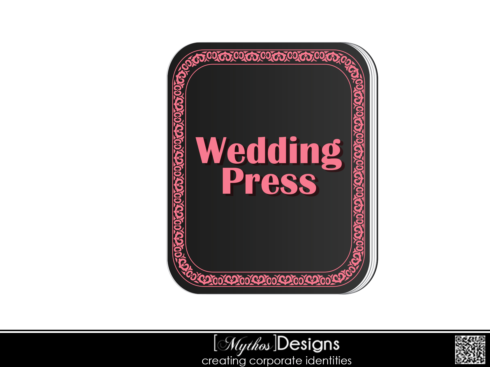 Logo Design by Mythos Designs - Entry No. 48 in the Logo Design Contest Wedding Writes Logo Design.