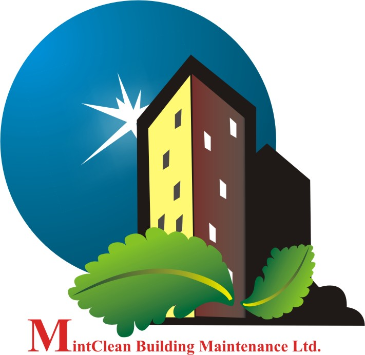Logo Design by Sahrish Jamil - Entry No. 6 in the Logo Design Contest MintClean Building Maintenance Ltd. Logo Design.