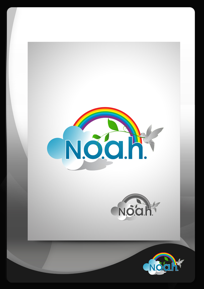 Logo Design by Mark Anthony Moreto Jordan - Entry No. 92 in the Logo Design Contest Fun Logo Design for N.O.A.H..