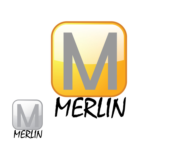 Logo Design by Diana Roder - Entry No. 132 in the Logo Design Contest Imaginative Logo Design for Merlin.