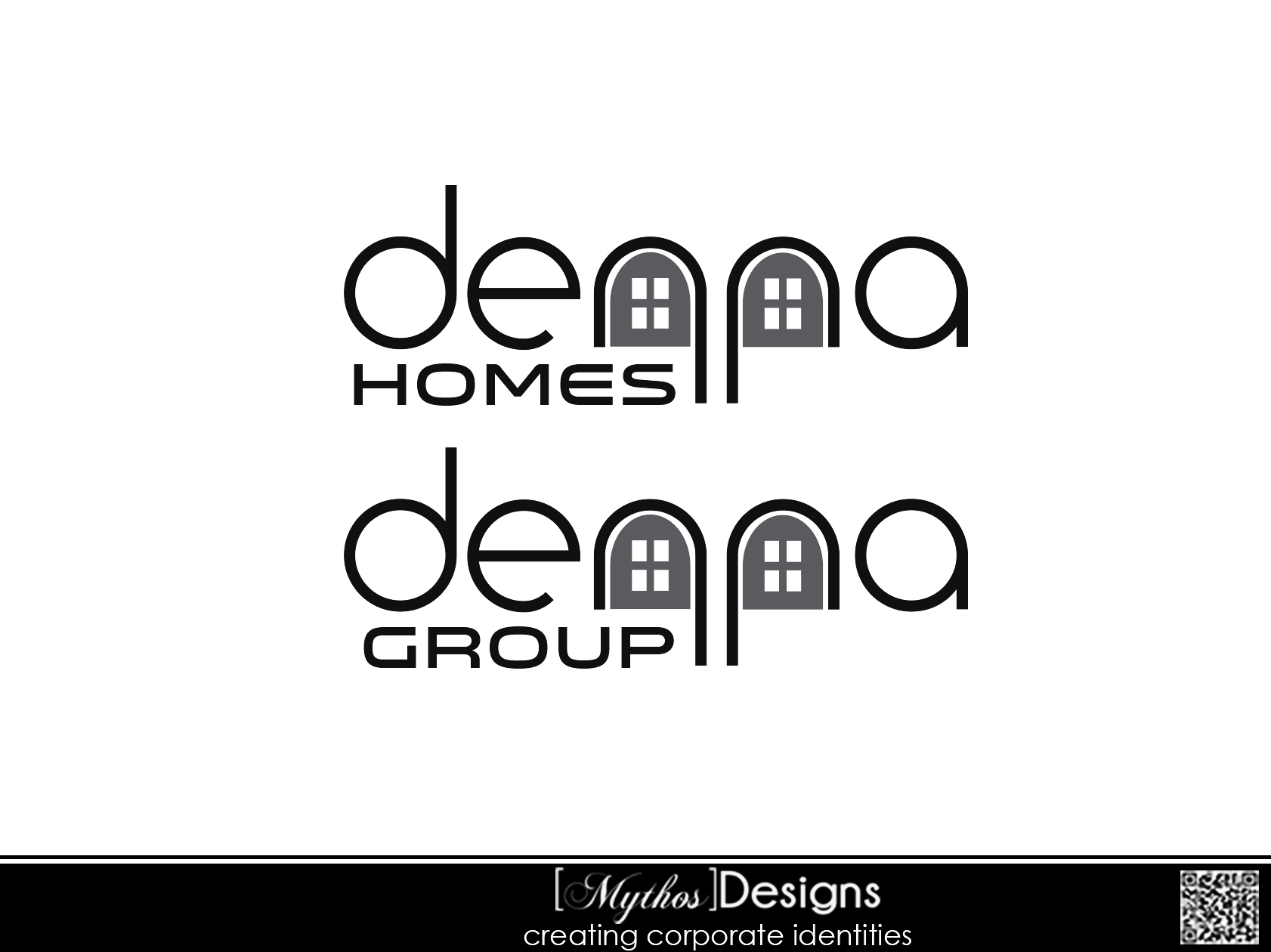 Logo Design by Mythos Designs - Entry No. 372 in the Logo Design Contest Denna Group Logo Design.