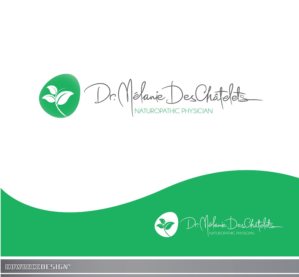 Logo Design by kowreck - Entry No. 62 in the Logo Design Contest Artistic Logo Design for Dr Mélanie DesChâtelets.