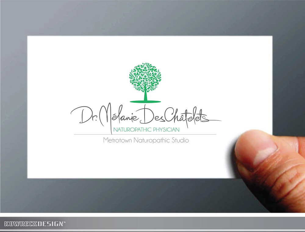 Logo Design by kowreck - Entry No. 63 in the Logo Design Contest Artistic Logo Design for Dr Mélanie DesChâtelets.