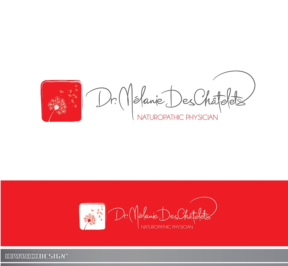 Logo Design by kowreck - Entry No. 64 in the Logo Design Contest Artistic Logo Design for Dr Mélanie DesChâtelets.