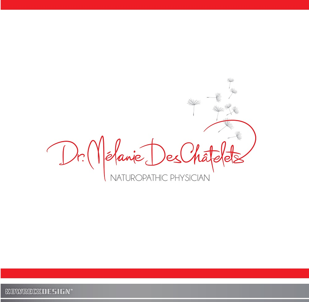 Logo Design by kowreck - Entry No. 67 in the Logo Design Contest Artistic Logo Design for Dr Mélanie DesChâtelets.