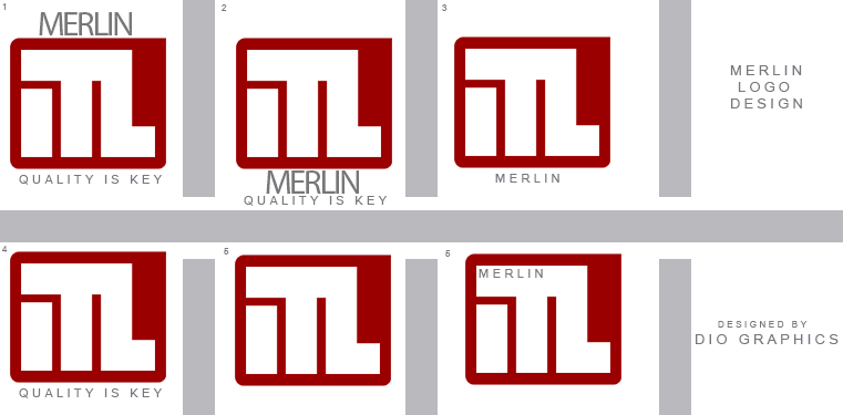 Logo Design by Dio Graphics - Entry No. 139 in the Logo Design Contest Imaginative Logo Design for Merlin.