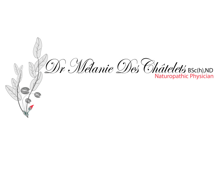 Logo Design by Diana Roder - Entry No. 69 in the Logo Design Contest Artistic Logo Design for Dr Mélanie DesChâtelets.