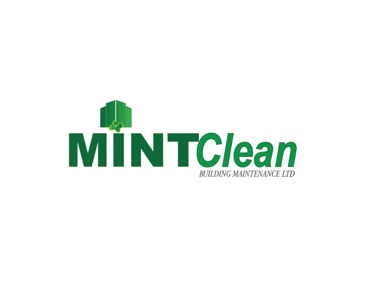 Logo Design by Diana Roder - Entry No. 9 in the Logo Design Contest MintClean Building Maintenance Ltd. Logo Design.