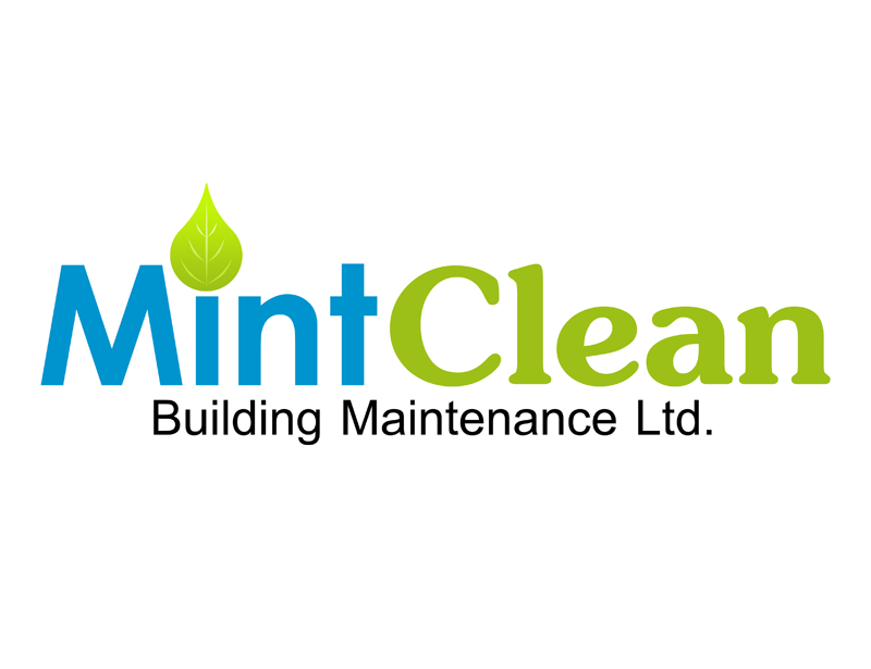 Logo Design by Robert Turla - Entry No. 12 in the Logo Design Contest MintClean Building Maintenance Ltd. Logo Design.