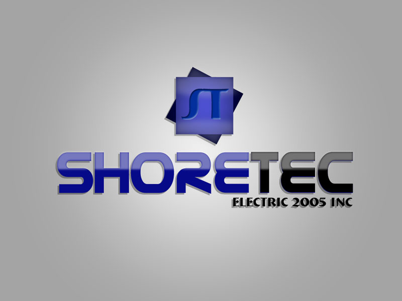 Logo Design by verri - Entry No. 86 in the Logo Design Contest Shore Tec Electric 2005 Inc.
