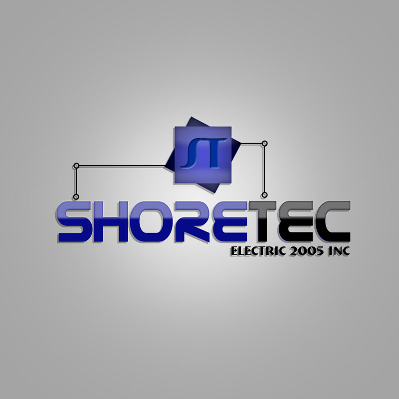 Logo Design by verri - Entry No. 87 in the Logo Design Contest Shore Tec Electric 2005 Inc.