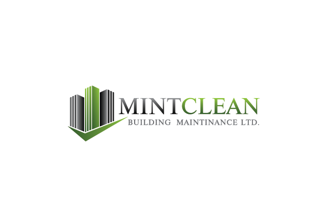 Logo Design by Private User - Entry No. 19 in the Logo Design Contest MintClean Building Maintenance Ltd. Logo Design.