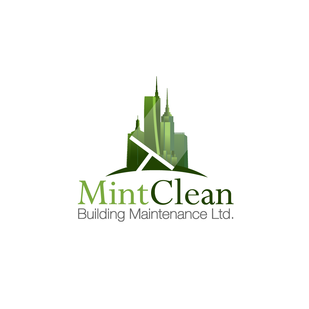 Logo Design by rockin - Entry No. 21 in the Logo Design Contest MintClean Building Maintenance Ltd. Logo Design.