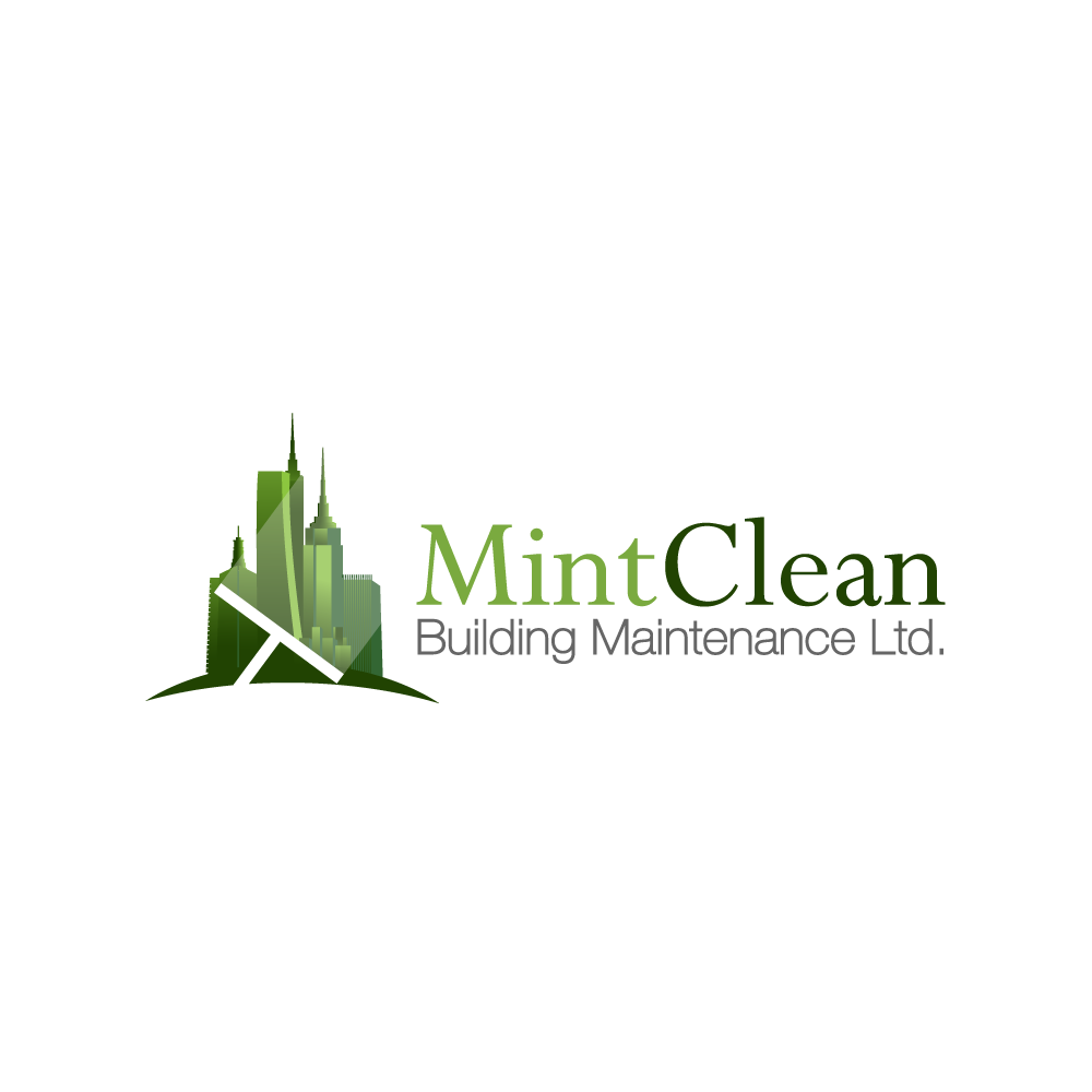 Logo Design by rockin - Entry No. 22 in the Logo Design Contest MintClean Building Maintenance Ltd. Logo Design.
