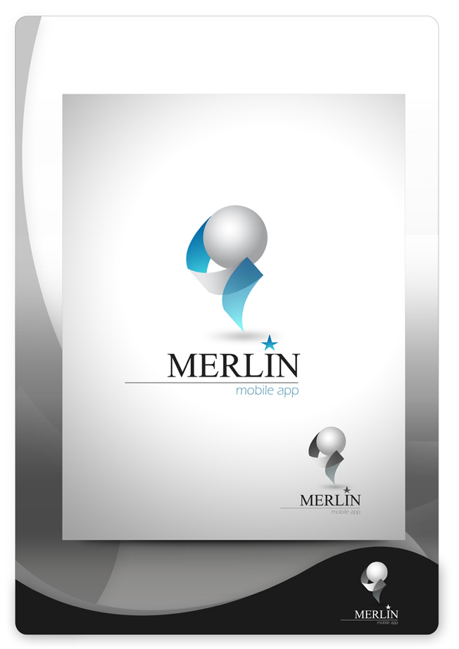 Logo Design by Mark Anthony Moreto Jordan - Entry No. 154 in the Logo Design Contest Imaginative Logo Design for Merlin.