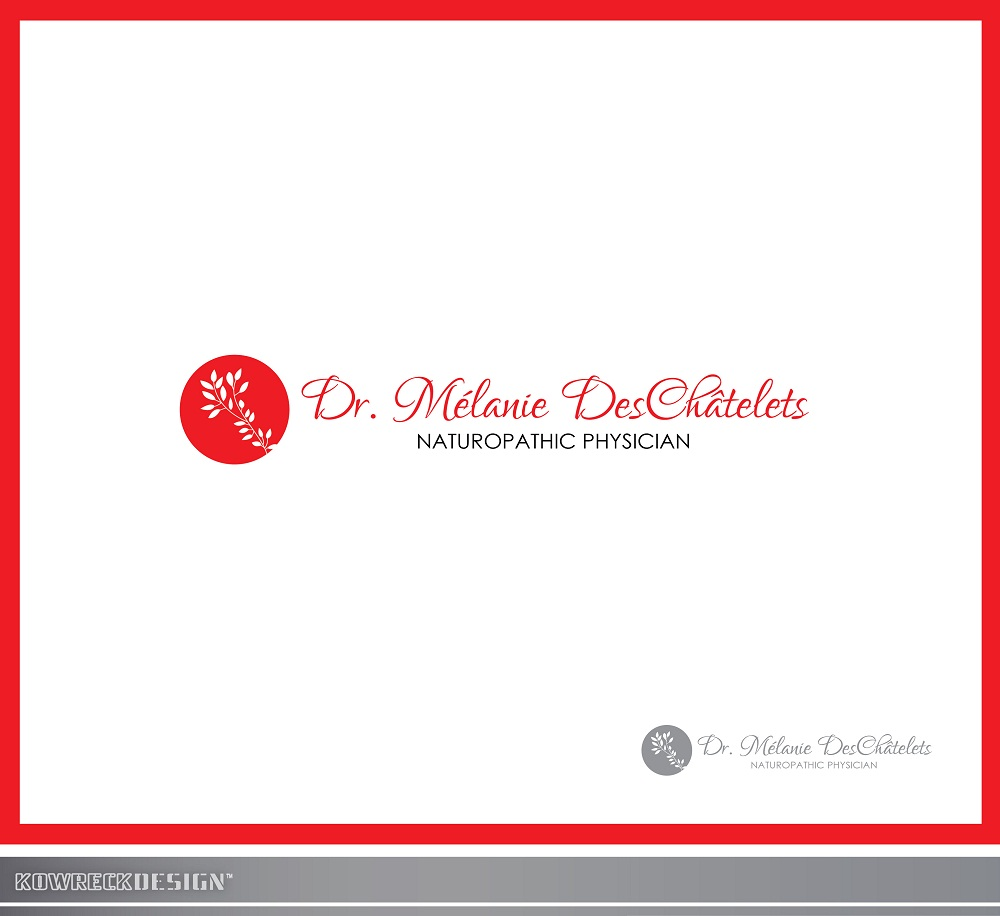Logo Design by kowreck - Entry No. 78 in the Logo Design Contest Artistic Logo Design for Dr Mélanie DesChâtelets.