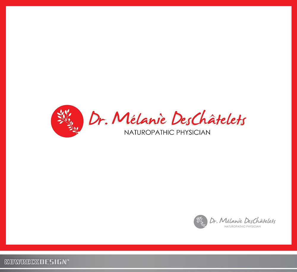 Logo Design by kowreck - Entry No. 81 in the Logo Design Contest Artistic Logo Design for Dr Mélanie DesChâtelets.