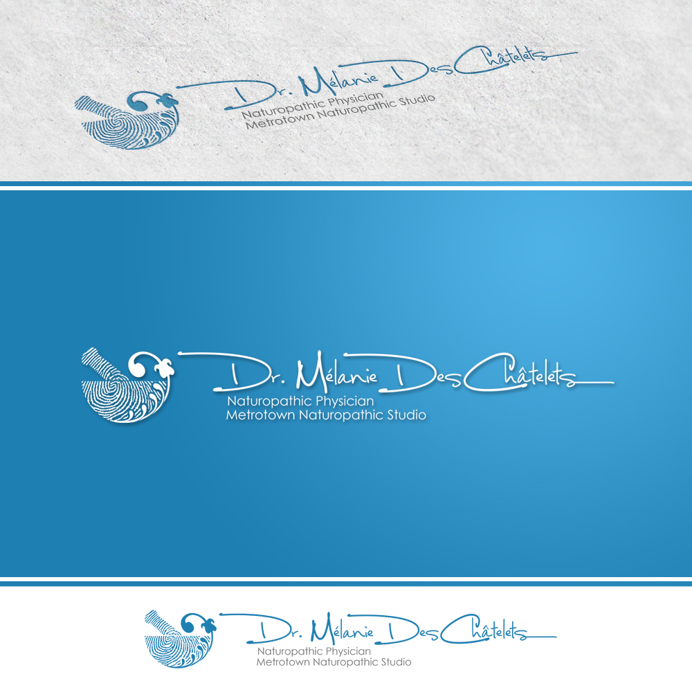 Logo Design by omARTist - Entry No. 87 in the Logo Design Contest Artistic Logo Design for Dr Mélanie DesChâtelets.
