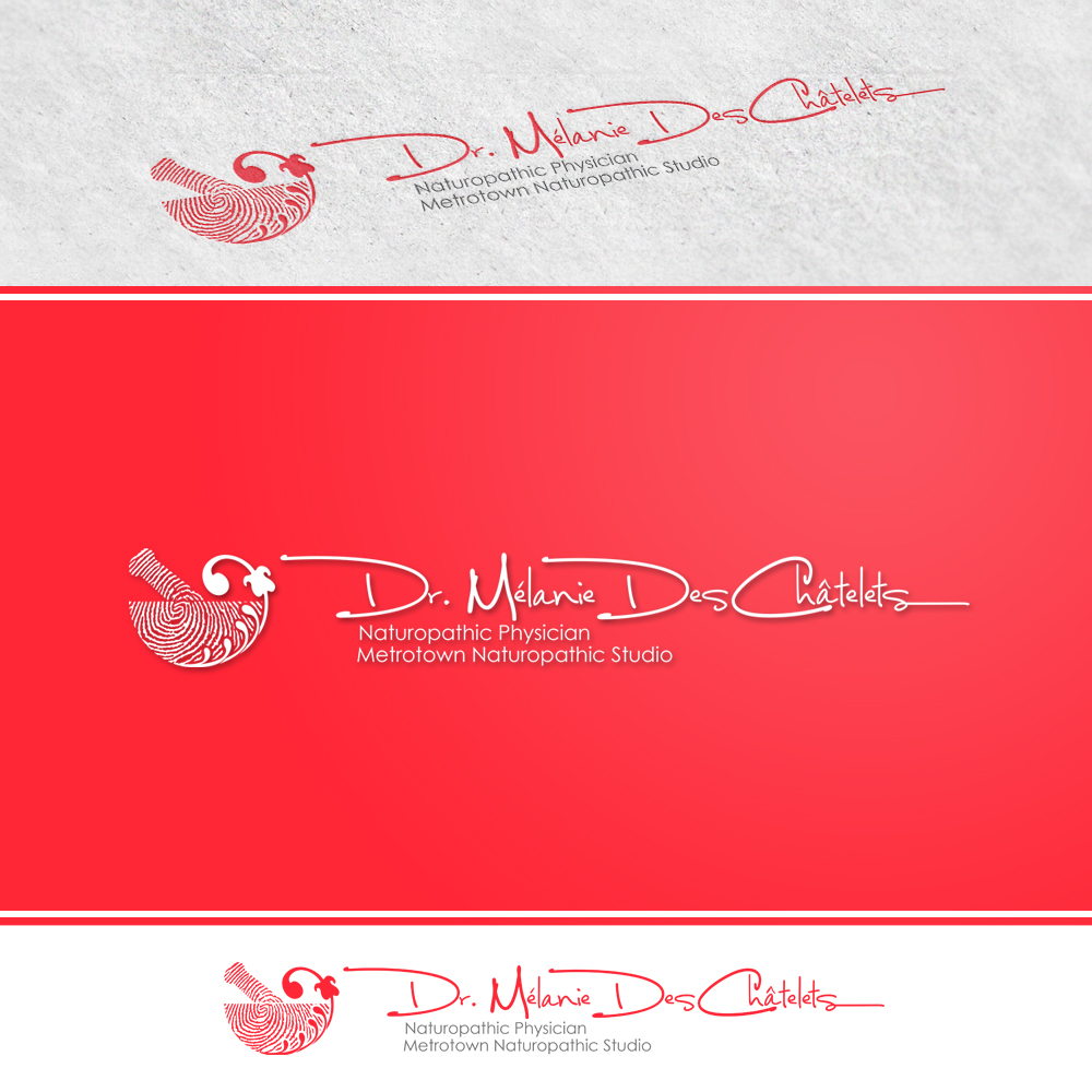 Logo Design by omARTist - Entry No. 88 in the Logo Design Contest Artistic Logo Design for Dr Mélanie DesChâtelets.