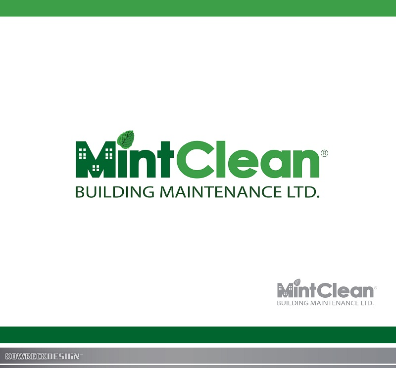 Logo Design by kowreck - Entry No. 23 in the Logo Design Contest MintClean Building Maintenance Ltd. Logo Design.
